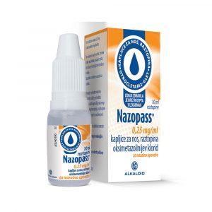 Nazopass kapljice za nos